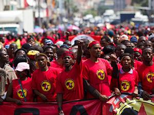 Güney Afrikalı metal işçileri grevde