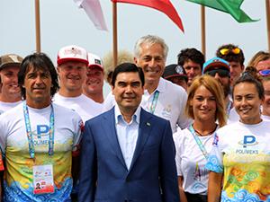 PFW Windsurf Cup 2014, Türkmenistan'da