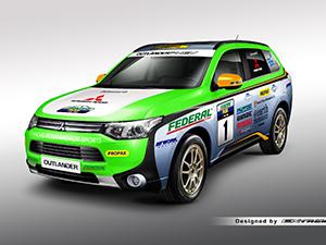 Mitsubishi Outlander PHEV, Asia Cross Country Rallisi'nde yarışacak