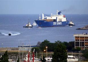 Suriye'nin kimyasal silahlarını taşıyan gemi İtalya'da