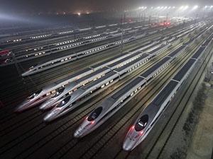 Yüksek hızlı tren rekabetine Çin damgası