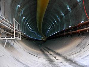 Avrasya Tüneli'ndeki çalışmalar ilk kez görüntülendi