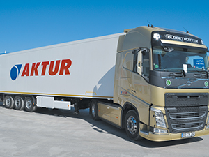 Aktur Taşımacılık, filosuna iki Volvo çekici kattı