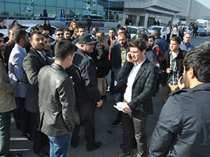 Ercan Havaalanı'nda park yeri krizi