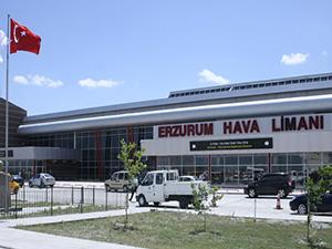 Erzurum Havalimanı'ndan 500 bin kişi uçtu
