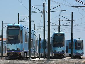 Gaziantep'te tramvayların bakım-onarımı devam ediyor