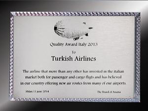 Turkish Cargo'ya ANAMA'dan ödül