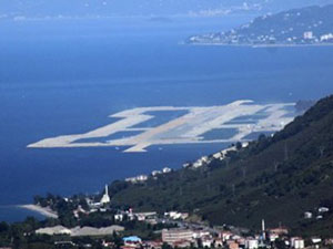 Ordu-Giresun Havalimanı'nda asfalt döküm çalışması başladı