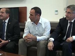 FÜ ile Boeing işbirliği toplantısı yaptı