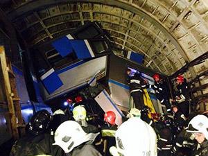Moskova metrosunda kaza: 10 ölü
