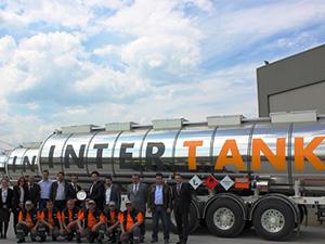 Intertank Lojistik'e Kässbohrer Tanker'den teslimat