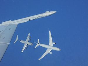A330 MRTT ilk yakıt ikmalini yaptı
