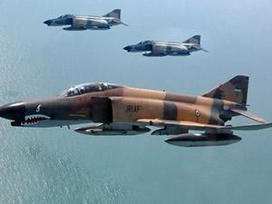 İran'da F-4 savaş uçağı düştü