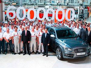 Audi 6 milyonuncu Quattro'yu üretti