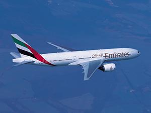 Emirates haftada dört kez Johannesburg'a uçacak