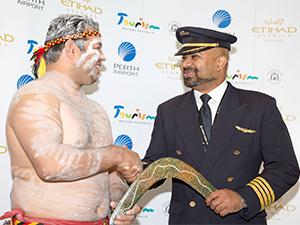 Etihad, Perth uçuşlarını başlattı