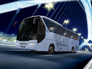 MAN NEOPLAN Tourliner EfficientLine yollarda