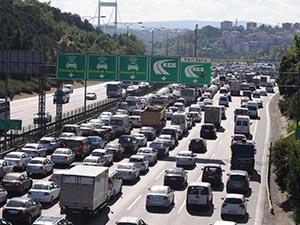 18 milyondan fazla araç trafiğe kayıtlı