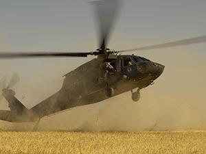 Kırgızistan'da askeri helikopter kaza yaptı