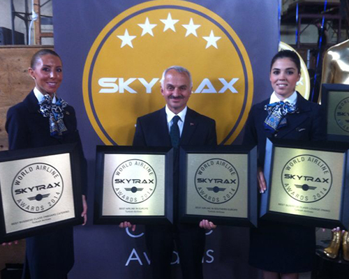 Skytrax, THY'yi 4 ayrı ödüle layık gördü