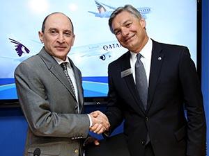 Qatar Airways'ten tarihinin en büyük siparişi