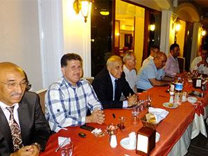 DTD üyeleri iftar yemeğinde bir araya geldi