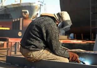 Tersaneye kaçak işçi çalıştırma cezası