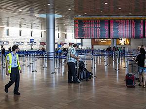 Tel Aviv'e uçuşların yarısından fazlası iptal edildi