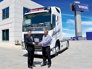 Serhat Arar Taşımacılık 4 adet Volvo kamyonu teslim aldı