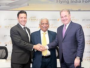 Etihad ve Jet Airways'ten işbirliği