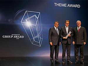 Fuchs, '2014 Volkswagen Grup Ödülü'ne layık görüldü