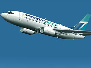 Kanada'da WestJet uçağı havadayken motoru arızalandı