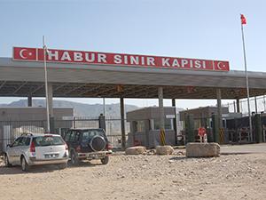 Habur Sınır Kapısı'nda ilk oylar kullanılmaya başlandı
