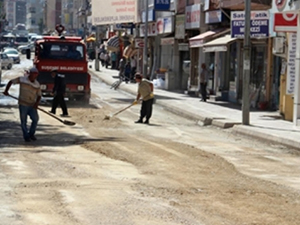 Sivas Suşehri'nde yol onarım çalışmaları sürüyor