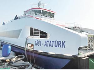 1881-Atatürk gemisi bugün İzmir'e geliyor