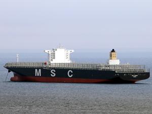 MSC, 15 bin 908 TEU kapasiteli MSC LONDON'ı teslim aldı