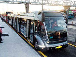 Metrobüs Bursa'da da hizmete girecek