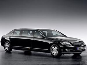 Mercedes, yeni aracı S-600 Guard'ı tanıttı
