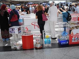 Atatürk Havalimanı'nda  utanç verici hırsızlık
