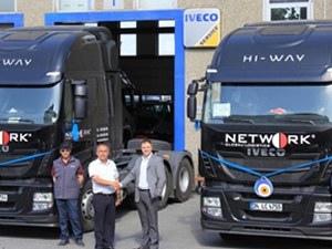 Iveco'dan Network'e 3 adet Stralis çekici