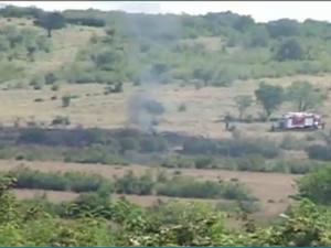Yunanistan'da uçak  kazası
