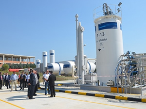 Linde Gaz'dan 'sülfürdioksit' dolum tesisi