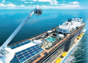 Royal Caribbean  935 milyon dolarlık lüks  kruvaziyer gemisi ile Çin pazarında