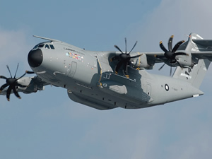 Airbus A400M tankerde testi tamamladı