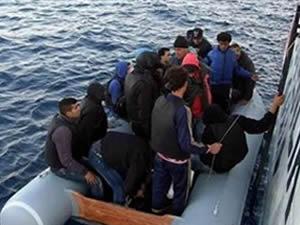 Ege'de 182 kaçak göçmen yakalandı