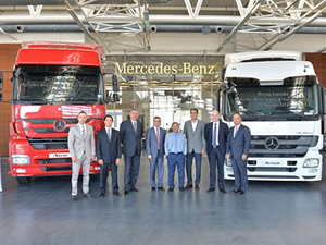 Reysaş'a Mercedes-Benz  desteği