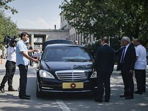 Erdoğan'ın yeni 'makam' otomobili Mercedes S600