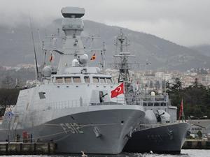 Türk Donanması'nın göz bebeği : TCG Büyükada