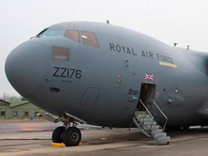 İngiltere Hava Kuvvetleri'nden ' Peşmerge'ye 9 ton cephane