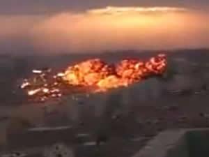 Libya'da askeri jet düştü